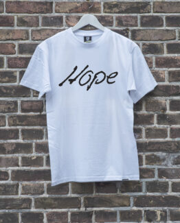 heren-shirt-wit-hope-zwart