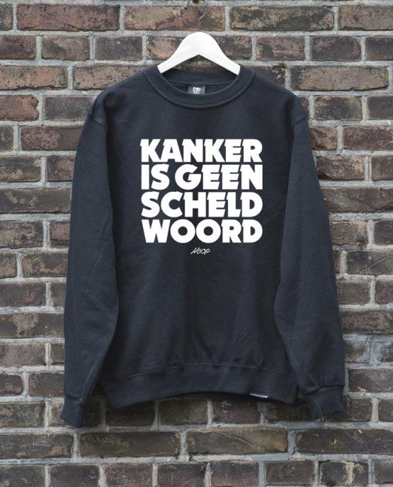 sweater-zwart-geenscheldwoord-wit