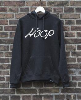 hoodie-zwart-hoop-wit