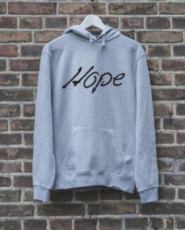 hoodie-grijs-hope-zwart