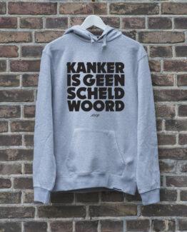 hoodie-grijs-geenscheldwoord-zwart